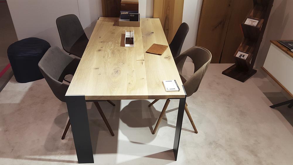 Esstisch oder schreibtisch klassisch massiv mit for Design massivholztisch
