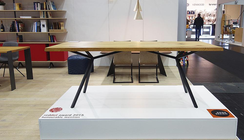 Esstisch Proportionen ~ Elegantes Design  Massivholz Esstisch  MassivholzDesign