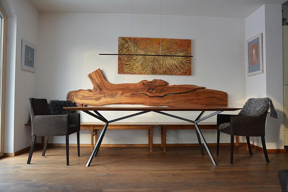 ... Esstisch Tisch Kt11 Amerikanischer Nussbaum Wild Wien Hohenems  ...