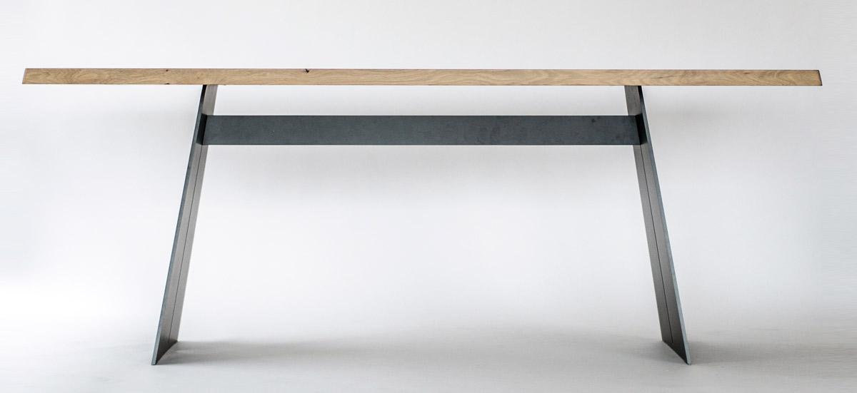 Wangentisch Mit Massivholzplatte Massivholz Design